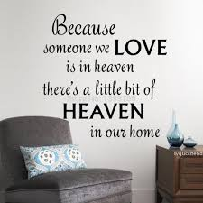 Love Heaven In Our Home Wall Decals Quote Wall Decorations Living Room Bedroom Wall Stickers Kids Room Decoration Wall Stickers Quotes Wall Stickers Removable From Lvguccifendi 29 24 Dhgate Com