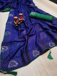 party wear border dgc040 zoya silk