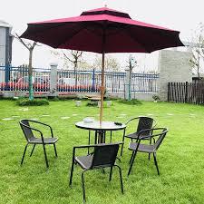 outdoor courtyard umbrella garden