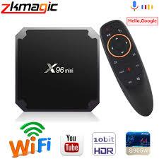 Android TV BOX X96 mini Android 7.1 Smart TV Box 2GB 16GB Amlogic S905W  Quad Core 2.4GHz WIFI 4K Media Player Smart Set Top Box Set-top Boxes