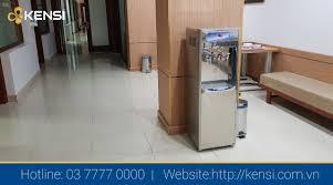 Lắp đặt cây nước RO nóng lạnh 3 vòi Nhập khẩu Đài Loan tại bệnh viện