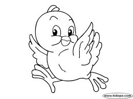 dibujo para colorear de unos pollitos