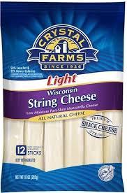 mozzarella string cheese sticks