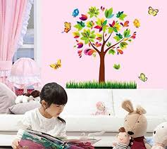 Wall Stickers Kids Room Baby Nursery Boys Girls Bedroom Decals Giant Wall Decals Removable Pvc Stickers Tree Price In Uae Amazon Uae Kanbkam