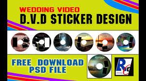 dvd sticker design psd dvd sticker