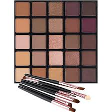 matte and shimmer eyeshadow palette