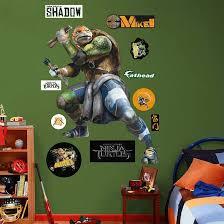 Fathead Tmnt Michelangelo Movie Giant Wall Decal Teenage Mutant Ninja Turtles Movie Tmnt Movie Tmnt