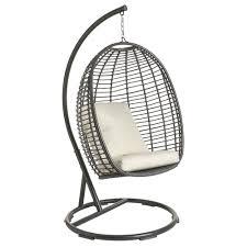 wilko garden hanging egg chair wilko