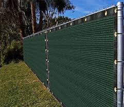Amazon Com Ifenceview 4 X5 To 4 X50 Green Shade Cloth Fabric Fence Privacy Screen Panels Mesh Net For Construction Site Yard Driveway Garden Pergola Gazebos Railing Canopy Awning 180 Gsm Uv Protection 4 X50