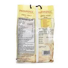 patanjali whole wheat atta 4 5kg