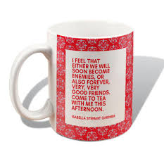 isabella quote mug come to tea gift at the gardner