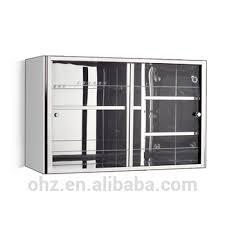 glass sliding door mirror cabinet