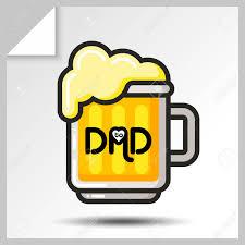 Iconos De Taza Vacaciones De Cerveza Para El Dia Del Padre O Para