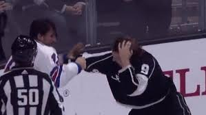 Adrian Kempe fixed his flow mid-fight against the New York Rangers -  Article - Bardown
