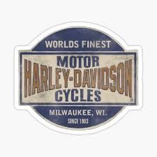 Harley Davidson Stickers Redbubble
