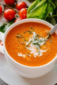 Roasted Tomato Soup Recipe   Diethood