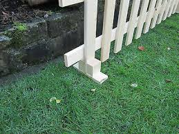 Fence Pickets 750mm Wooden Picket Fence Pales 10 X Traditional Planed Smooth 2ft 6inch Garden Patio Tallergrafico Com Uy