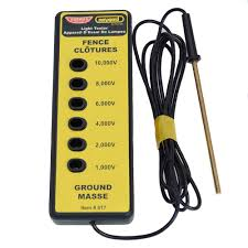 Parmak 6 Lite Electric Fence Tester Margo Supplies