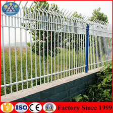 China Spray Paint Villa Anti Climb Garden Fence Guardrail Customized China Road Guardrail Airport Fences