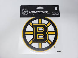 Wincraft Perfect Cut Reflective Boston Bruins Colored Car Decal