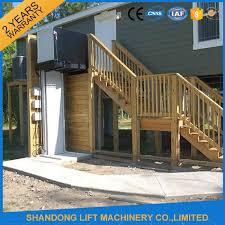 wheelchair hydraulic platform lift