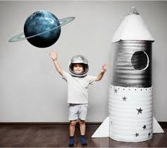 Stick It Graphix Uranus Planet Wall Decal Sticker Vinyl Solar System Boys Nursery Play Room Decor