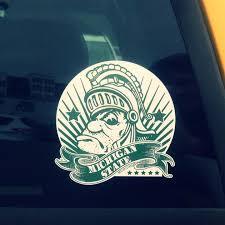 Gruff Money Sparty Michigan State Vinyl Car Decal Sticker