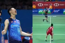 lee zii jia served world s badminton player iconic