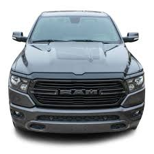 Revolution 1500 Hood 2019 2020 Dodge Ram 1500 Hood Decals Vinyl Graphic Stripe Kit Moproauto Professional Vinyl Graphics And Striping