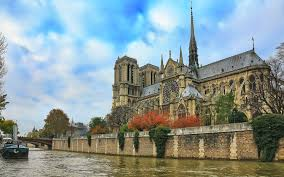 wallpaper notre dame cathedral river