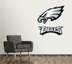Philadelphia Eagles Wall Decal Logo Football Nfl Art Sticker Vinyl Large Sr112 Ebay