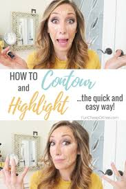 how to contour and highlight my