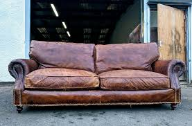 halo balm 3 seater sofa in whiskey