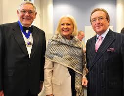 Lord Lieutenant D Byron Lewis, Mrs Hillary Lewis a