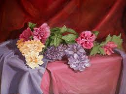 Flowers Painting by Abby Parker