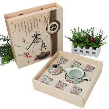 fiber silver ceramic kung fu tea set