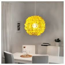 ikea grimsas pendant lamp yellow 22