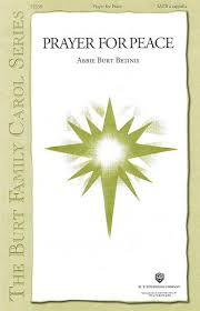 Singers.com: Abbie Betinis: Prayer for Peace: SATB sheet music