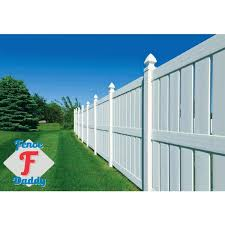 Unbranded Vinyl Fence Repair Kit In White 45 0gsk E42f The Home Depot