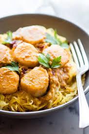 Spaghetti Squash Pasta with Scallops ...