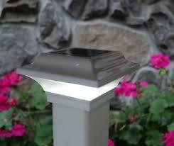2x2 White Aluminum Imperial Solar Post Cap Led Deck Fence Lights 10 Pack 898136000243 Ebay