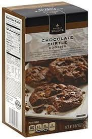 safeway select chocolate turtle cookies