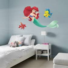 The Little Mermaid Collection X Large Officially Licensed Disney Removable Wall Decals Disney Wall Decals Mermaid Wall Decals Disney Wall