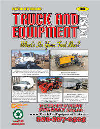 Truck And Equipment Post Issue 22 23 2020 By 1clickaway Issuu