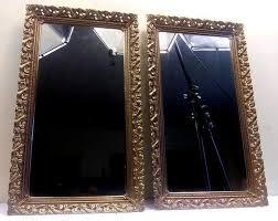 large victorian metal framed rectangle