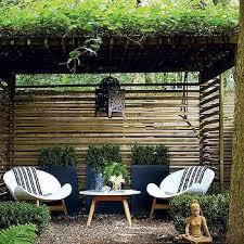 zen garden with pergola design ideas