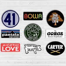 Sticker 9 Pack Dmb Gorge Crew