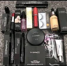 female 11 items mac perfect make up kit