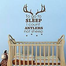 Buy Wall Decals Animals Decal Deer Antler Horns Fauna Safari Hunting Art Mural Bedroom Kids Living Room Kitchen Vinyl Sticker Home Decor Ml117 In Cheap Price On Alibaba Com