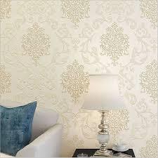 کاغذ دیواری کرم رنگ و ترکیب آن با دیگر عناصر - محصولات دکوراسیون ...